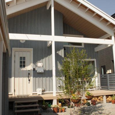 中2階のある平屋風の家