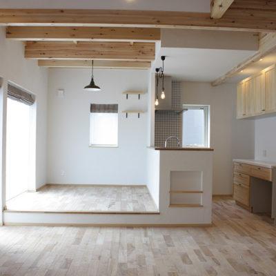 柔らかい光があふれる家